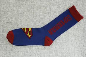 Носки Marvel - высокие - синие - Superman