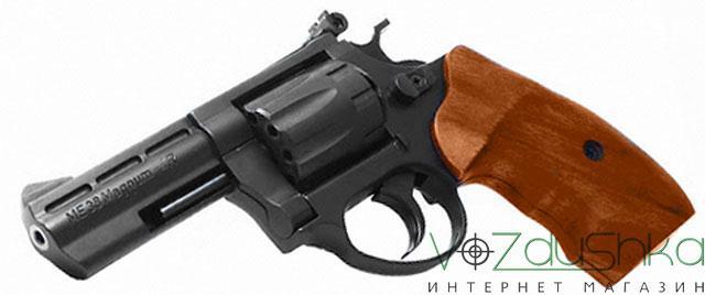 револьвер me-38 magnum 4r (деревянная рукоять)