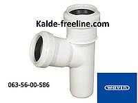 Wavin (вавин) Тройник для канализации д.32/32х67