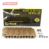 PROX ŁAŃCUCH NAPĘDOWY X-RING GOLD 520/120 OGNIW KOLOR ZŁOTY