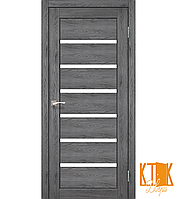 """Межкомнатная дверь коллекции """"Porto"""" PR-01 (дуб марсала)"""