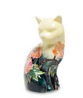 Фарфоровая статуэтка Кошка (Pavone) JP-11/23