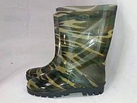 Сапоги схид резиновые мужские камуфляжные, фото 1