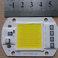 Светодиод 50 Вт 220 в холодный белый