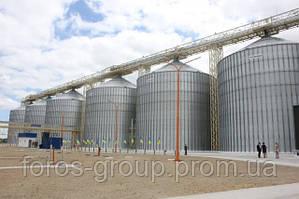 В Украине стартовало строительство комплекса для перевалки зерна