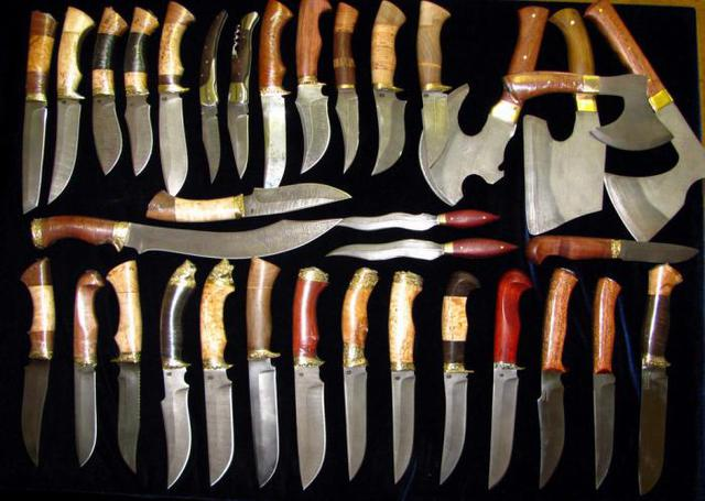 Ножи, топоры, мачете, мультитулы, точилки