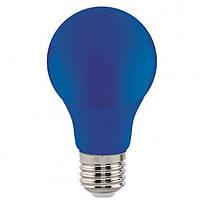 Светодиодная лампа Horoz A60 3W Е27 синяя