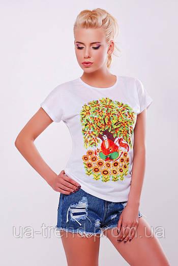 Женская футболка на лето Козак