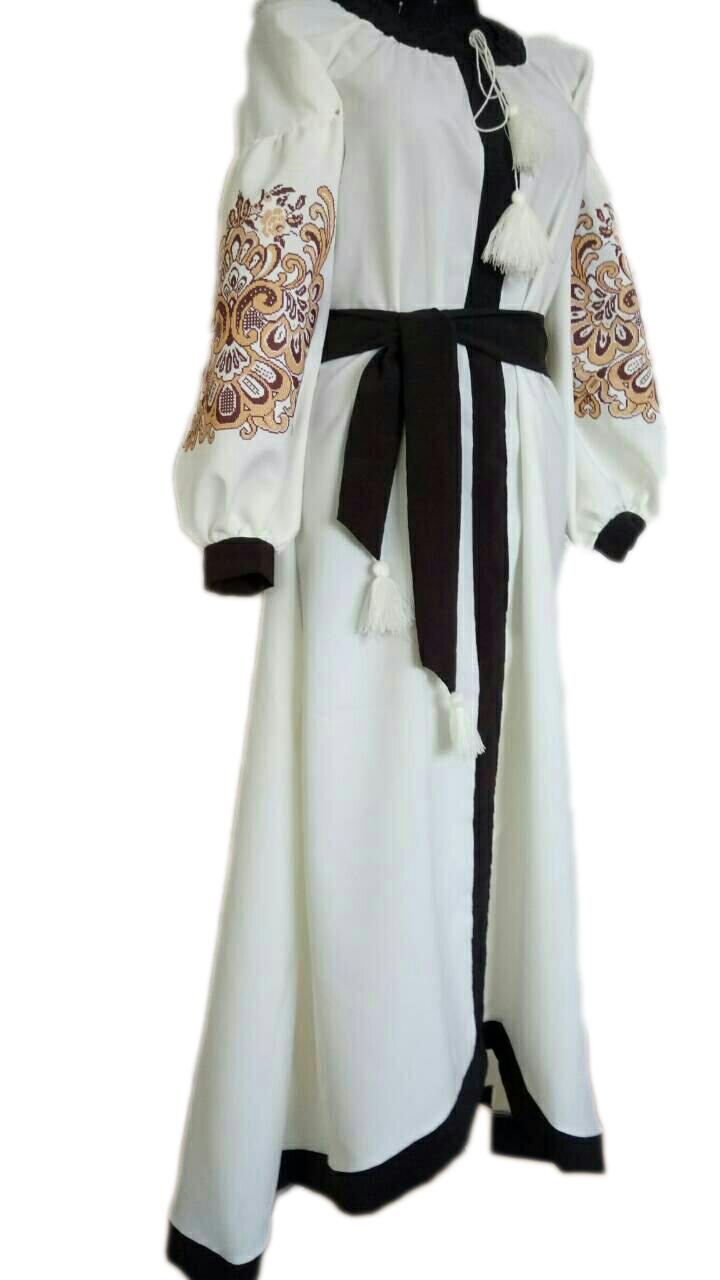 """Женское вышитое платье """"Версаль"""" PU-0018"""