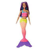 """Кукла Barbie """"Русалочка с Дримтопии"""" / Barbie Dreamtopia New Core Mermaid Doll - Purple Hair"""