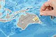 Скретч-карта мира Silver в рамке на английском, фото 5