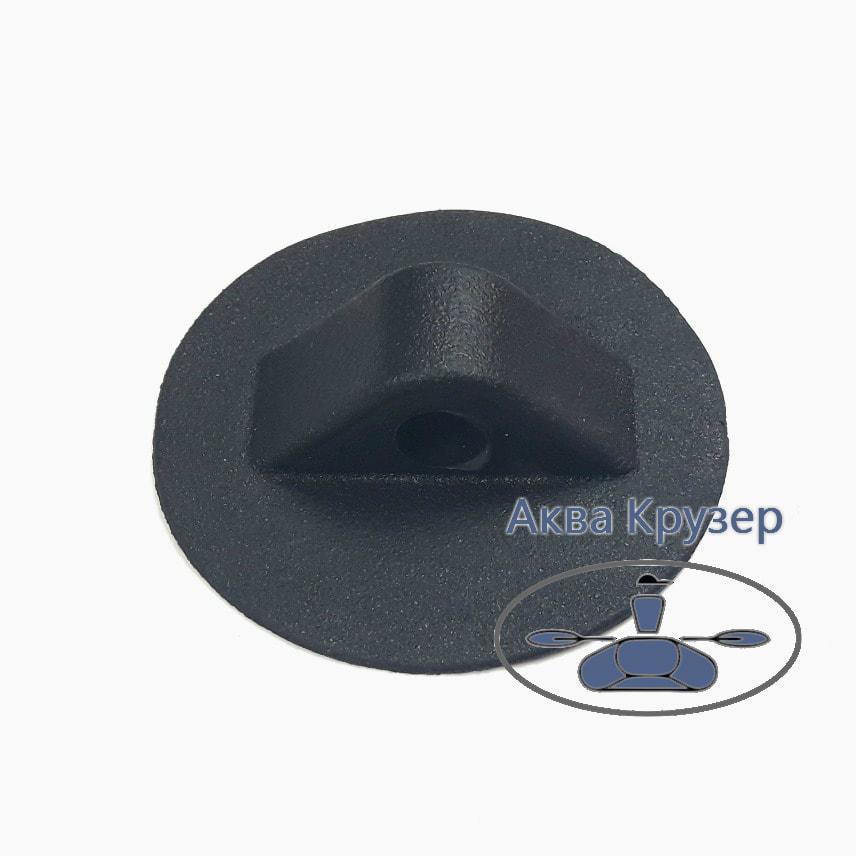 Лееродержатель малий, колір чорний, для надувних човнів ПВХ
