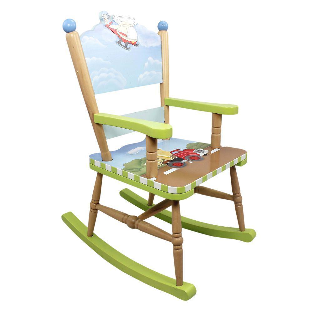 Детское кресло-качалка Transport