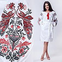 Платье в украинском стиле - Жар птица