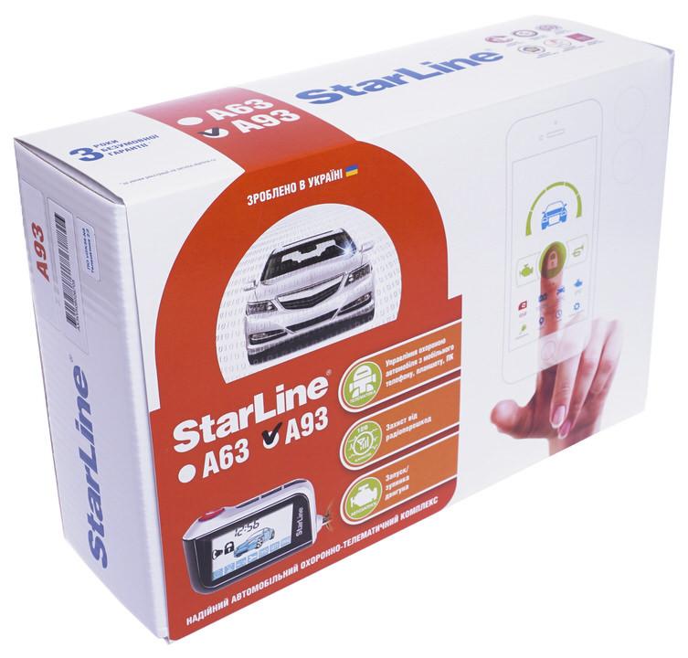 Автосигнализация StarLine A93 (Диалоговая)
