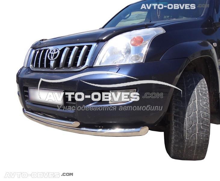Защитная дуга двойная для Toyota Prado 120