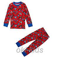 Пижама для мальчика с длинным рукавом. Тачки