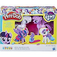Игровой набор Play-Doh Твайлайт и Рарити