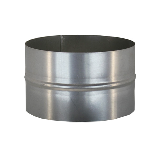 Муфта соединительная 110 мм из нержавеющей стали для дымохода «Версия Люкс»