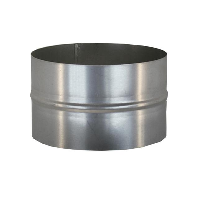 Муфта соединительная 180 мм из нержавеющей стали для дымохода «Версия Люкс»