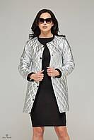 Демисезонная куртка-плащ К-60 удлиненная., фото 1
