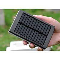Solar Power Bank 32000 METAL+LED ПАНЕЛЬ Солнечный Повербанк Зарядка Аккумулятор