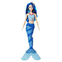 """Кукла Barbie """"Русалочка с Дримтопии"""" / Barbie Dreamtopia New Core Mermaid Doll - Blue Hair"""