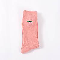 Носки Mo Xiao - высокие - Персик - розовые