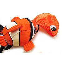 Детский рюкзак с капюшоном. Рыбка.