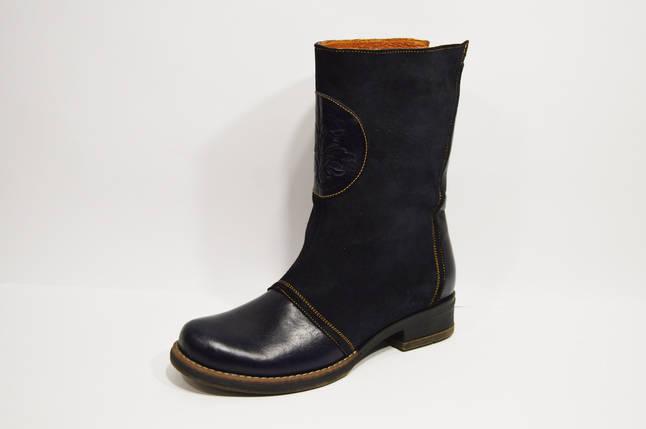 Синие повседневные ботинки El Passo 1356, фото 2
