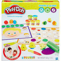 Набор пластилина Play-Doh Shape & Learn - Буквы