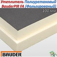 Теплоизоляционная плита BauderPIR FA 100мм (Фольгированный)