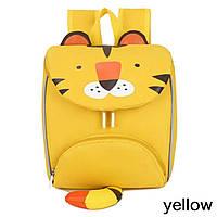 Детский рюкзак, желтый, Тигруля.