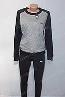 Красивый весенний костюм Nike серо-черный