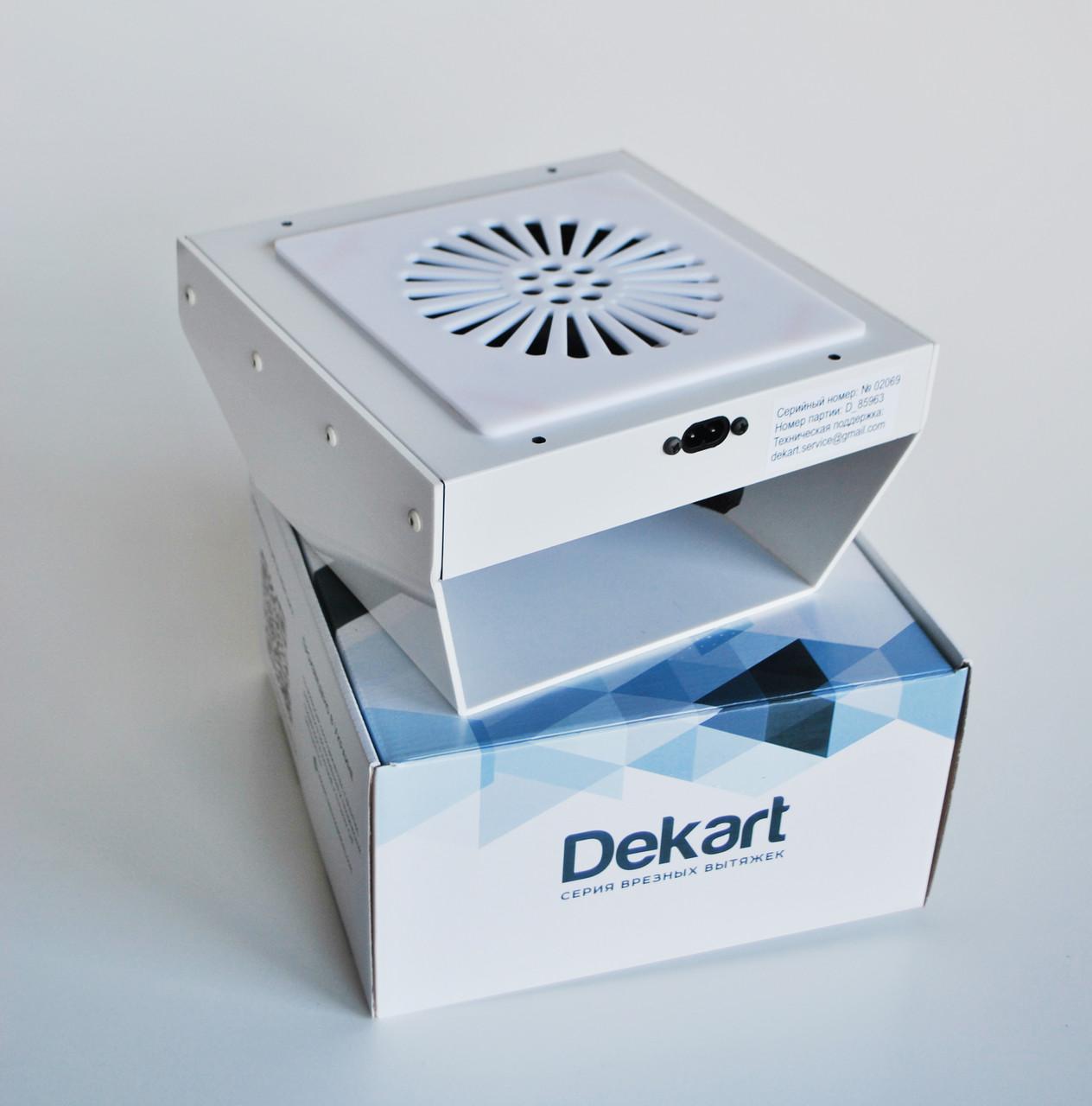 Врізна витяжка для манікюрного столу Dekart 4