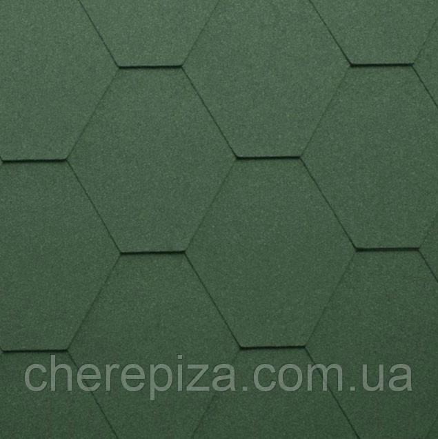 Бітумна черепиця Shinglas Classic KL зелений