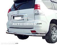 Полная защита заднего бампера для Toyota LC150 от ИМ Автообвес