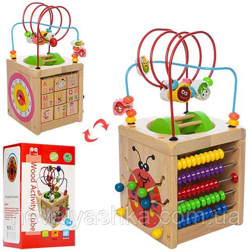 Деревянная игрушка Лабиринт, MD 1175, 007141
