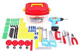 Набор детских инструментов 94 предмета, в чемоданчике