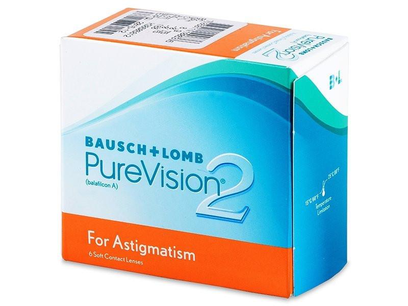 Контактні лінзи Pure Vision 2 for astigmatism