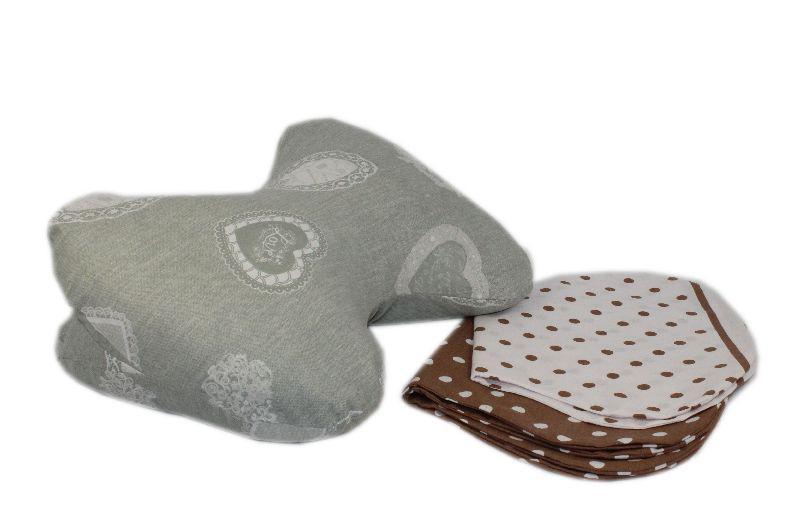 Подушка-бабочка с наволочкой