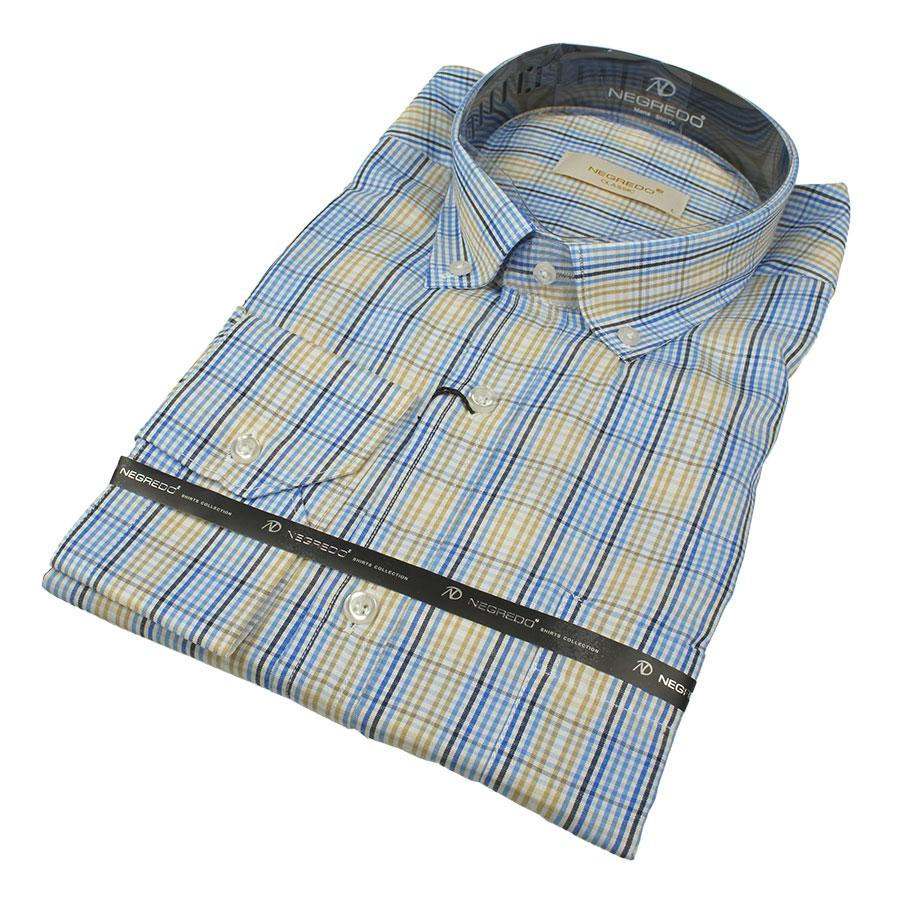 Стильные мужские классические рубашки размер XXL 0250С