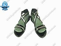 Женские сандалии (Код: БЖ-41 черный )