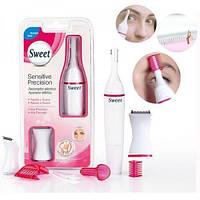 Женский электрический триммер SWeet Sensitive Precision. Бритва для женщин. Хорошее качество. Код: КГ3907