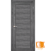 """Межкомнатная дверь коллекции """"Porto"""" PR-05 (дуб марсала)"""