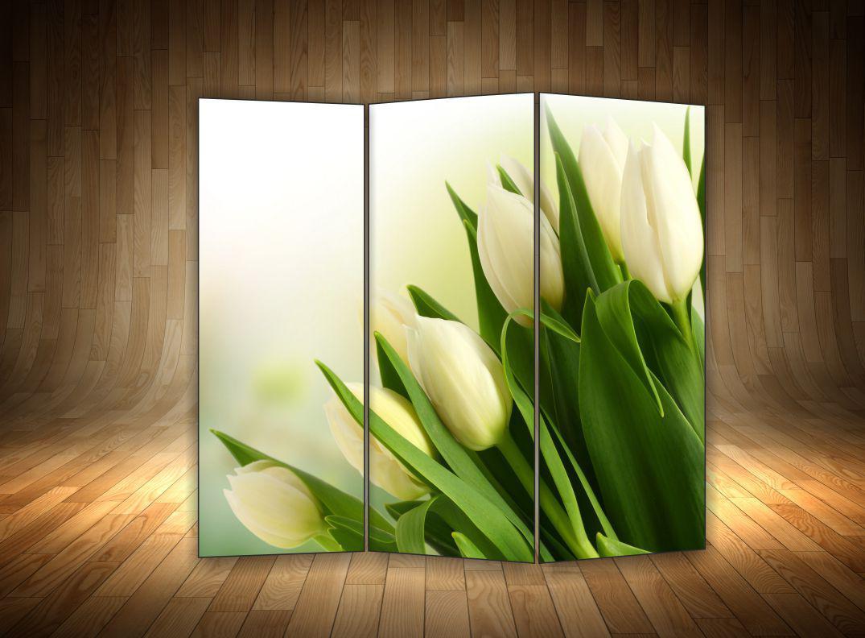 """Ширма """" Білі тюльпани"""""""