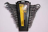 Набор комбинированных ключей рожково-накидных CrV 14шт Toolex 0611214