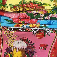 Кухонные Пасхальные полотенца лен рушник на Пасху 35х75 в уп. 10 шт произв. Тирасполь