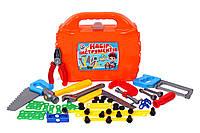 Набор детских инструментов в чемоданчике - 8 предметов