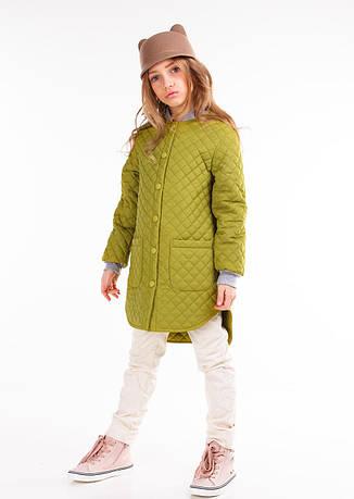 Детская демисезонная куртка для девочки Гермиона, размеры 116-140, фото 2